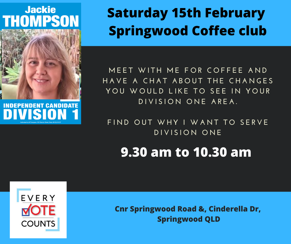 Jackie Thompson Springwood Division one